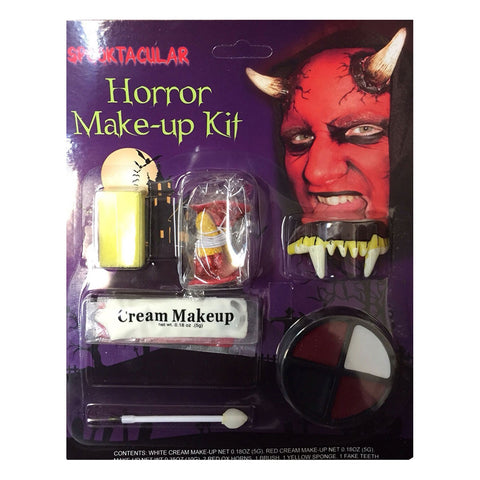 Halloween Red Devil Horror Make-up Kit