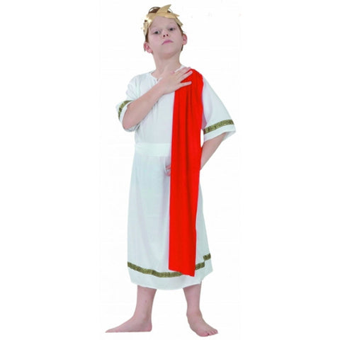 Children Roman Emperor Costume Kids Fancy Dress Book Week Outfit