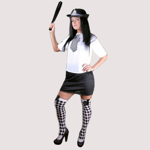 Adult Sexy Police Woman Costume