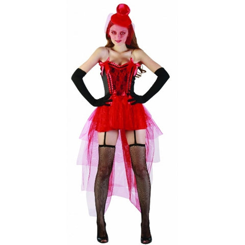 Adult Sexy Saloon Girl Costume