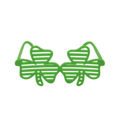 Shutter Shamrock Holiday Green Irish Eye Glasses St. Patricks Day Party Prop