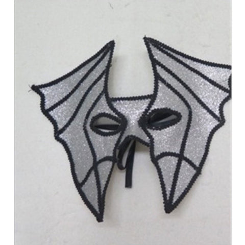 Silver Bat Masquerade Mask Horror Halloween Fancy Dress Party Face Mask