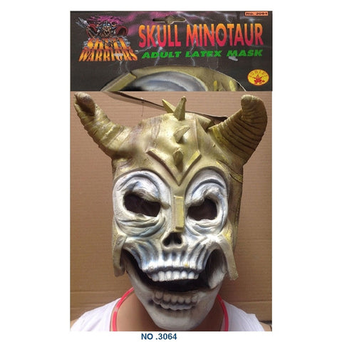 Halloween Skull Minotaur Mask Adult Horror Fancy Dress Party Accessory