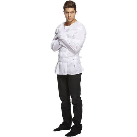 Adult Straight Jacket Halloween Party Fancy Dress