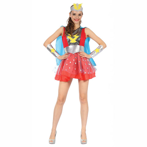 Ladies Super Heroine Costume