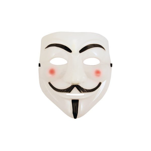 Halloween Face Mask Anonymous Hacker V for Vendetta Guy Fawkes Fancy Dress Accessory