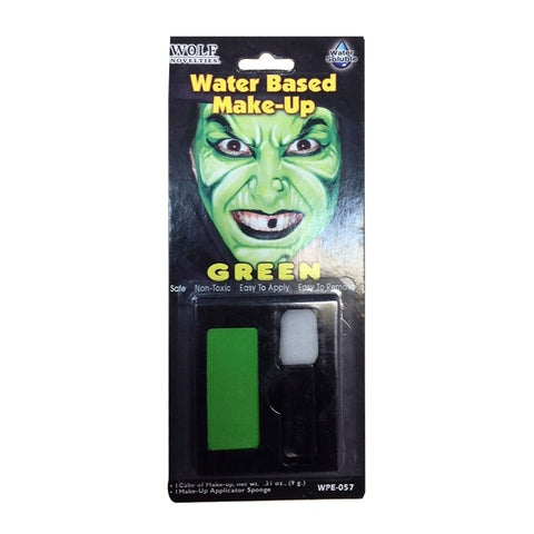 Halloween Water Based Makeup Green
