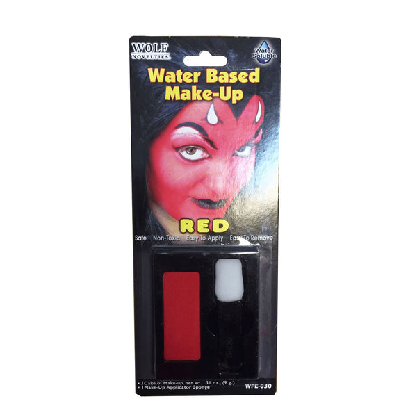 Halloween Water Based Makeup Red