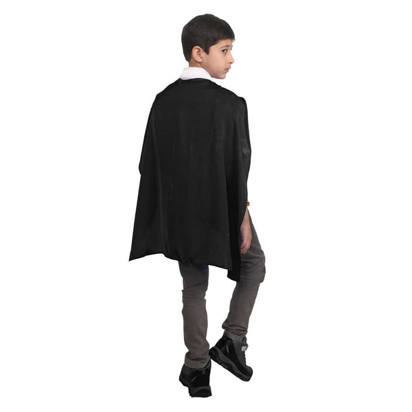 Wicked Fun Children Black Deluxe Satin Cape