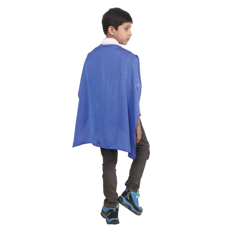 Wicked Fun Children Blue Deluxe Satin Cape