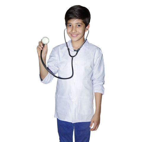 Children Doctor Coat Kids Fancy Dress Costume