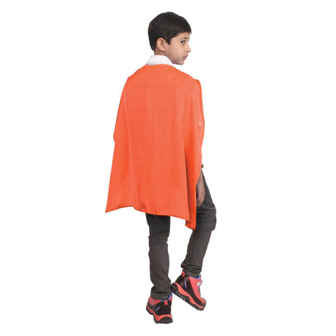 Wicked Fun Children Orange Deluxe Satin Cape