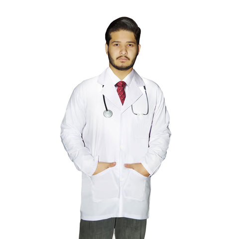 Adult Doctor Coat Fancy Dress