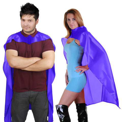 Wicked Fun Adult Purple Deluxe Satin Cape