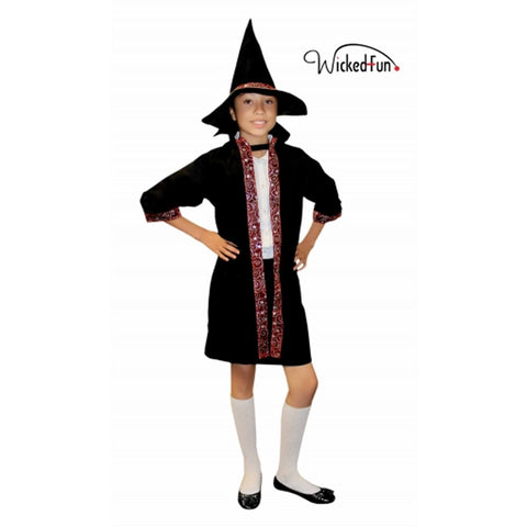 Children Wizard Outfit Unisex Halloween Book Week Day Costume