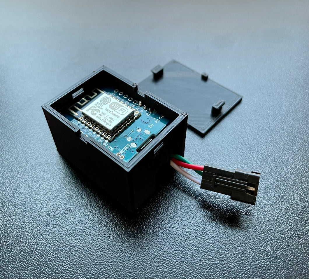 Preassembled D1 Mini LED Controller with WLED Preinstalled