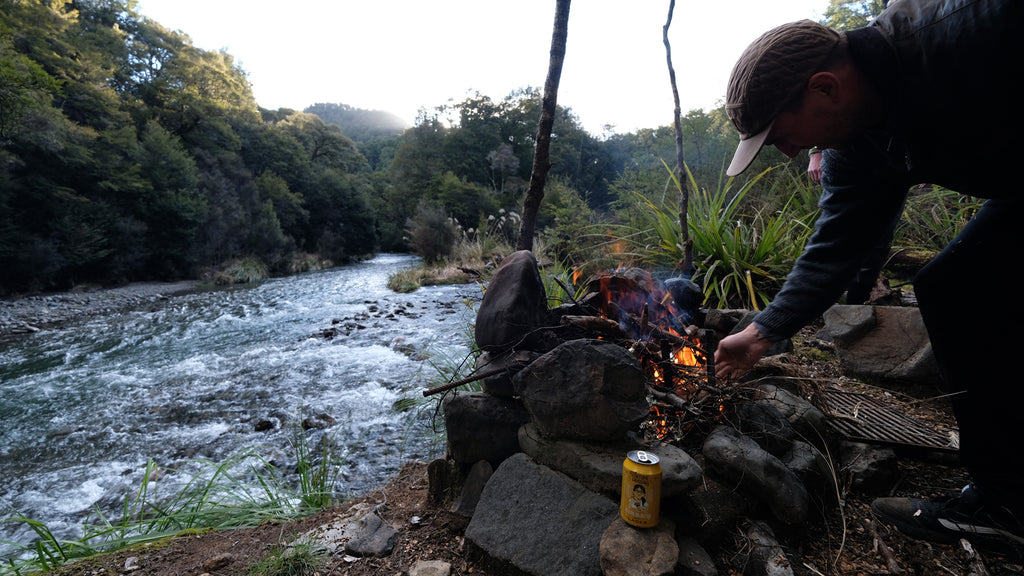 Camping in the Kaweka Back Country