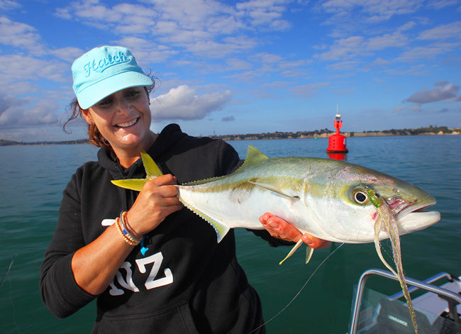 auckland king fish on a fly rod