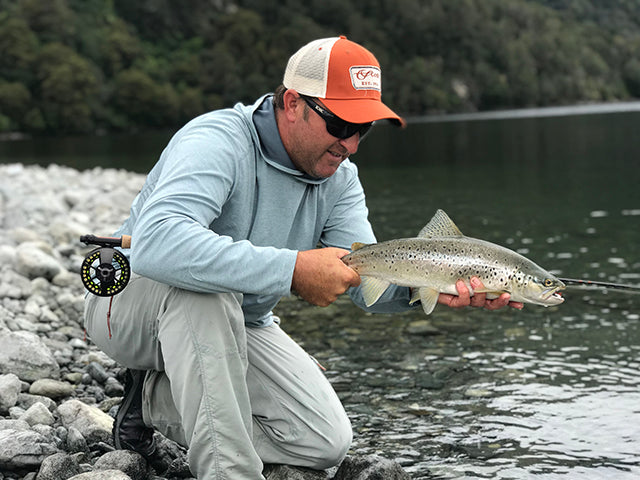Back Country Rainbow Trout NZ