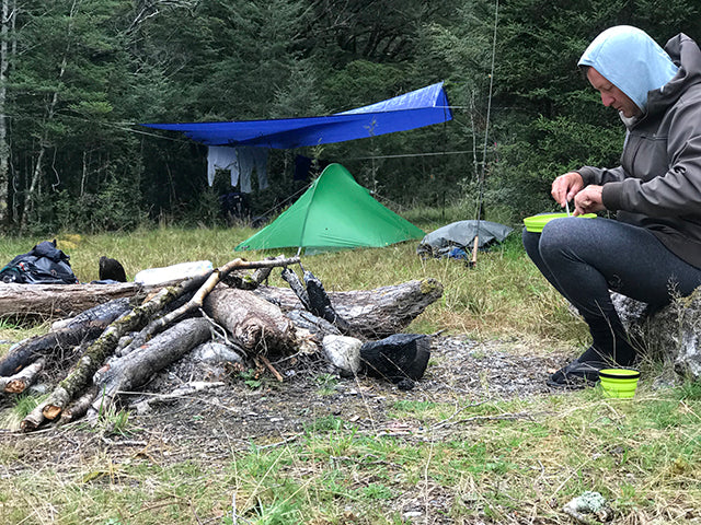 New Zealand Back Country Campsite