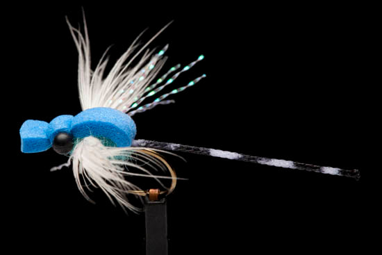 manic tackle adult damsel fly dry fly