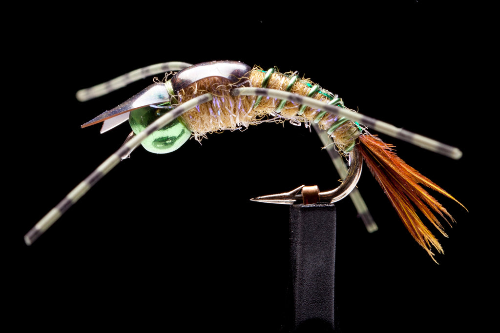 Davis' Back Country Stone Fly - Green