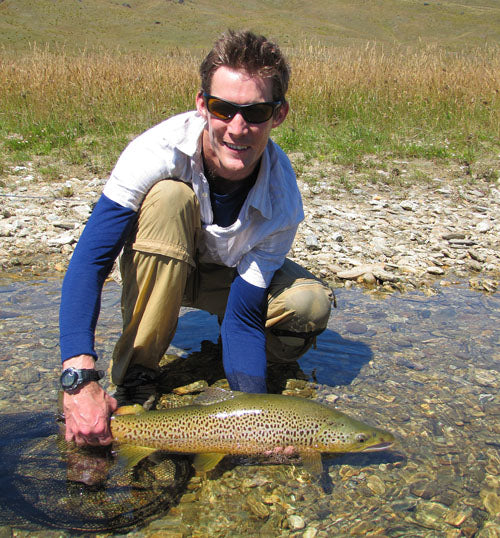Al from queenstown new zealand, english tourist, fly fishing, learning how to, where to go in southland for big trout, trophy browns