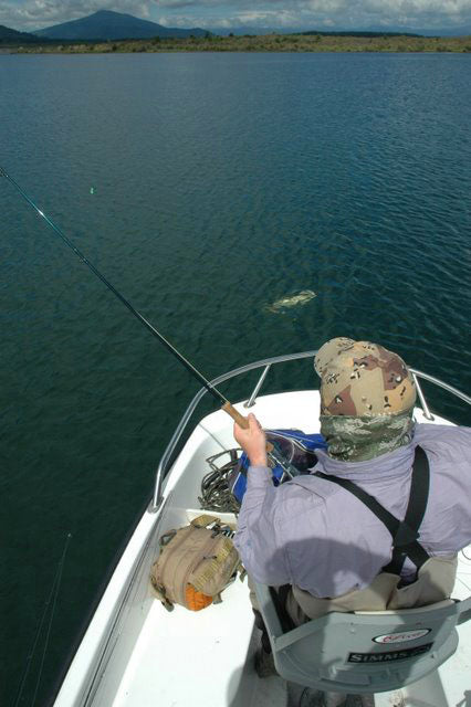 Lake fishing in new zealand, trout fishing specialists, guides in taupo and turangi, best quality