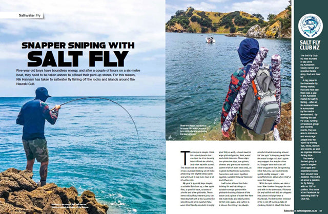 Rod and reel saltwater fly fishing club