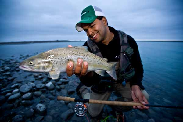 Rene vaz manic tackle project spey casting skagit head switch rod two handed fly rod sea run brown trout