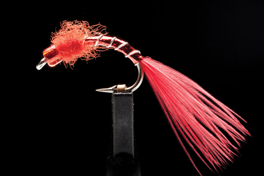 Rob Vaz's Redhead Bloodworm From The Manic Fly Collection