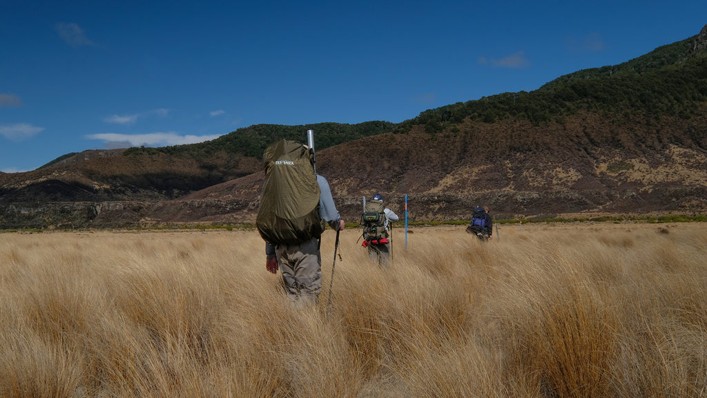 Tramping and fly fishing in New Zealand