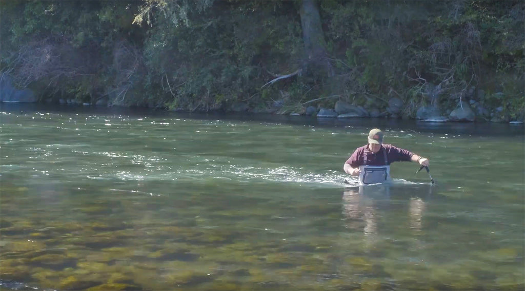 The Correct Way To Use A Wading Staff