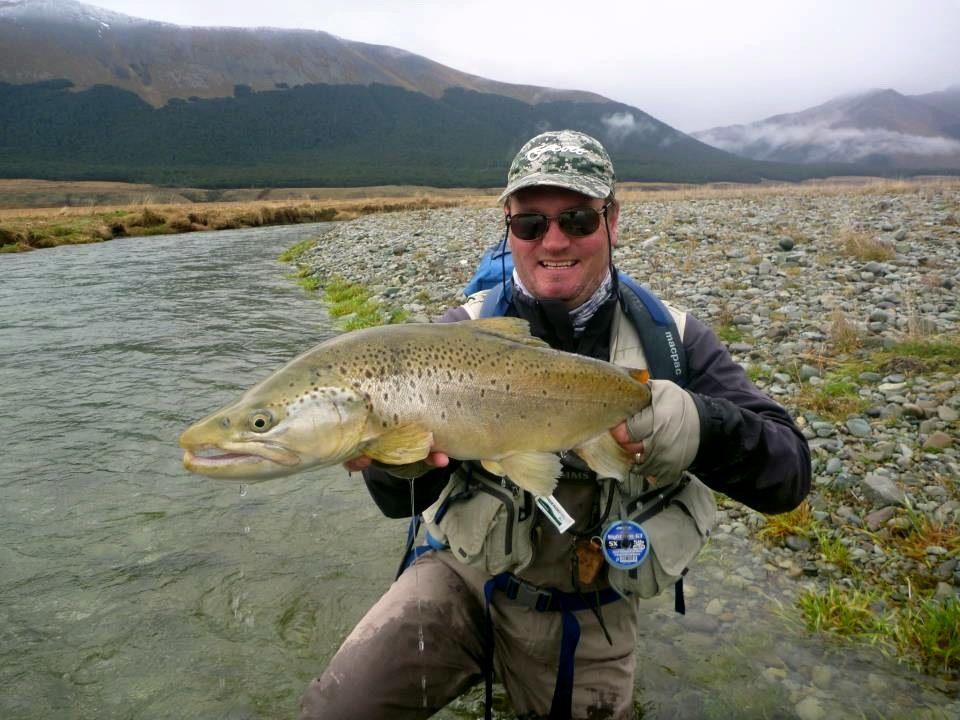 Chris dore fly fishing guide talks nymphing in New Zealand