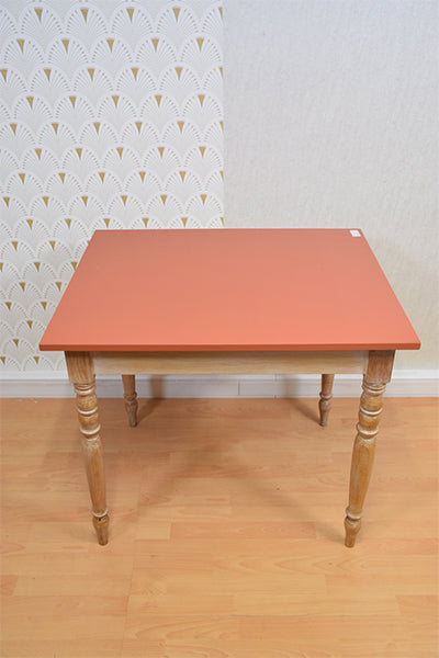 FLORENCE | table carré orange