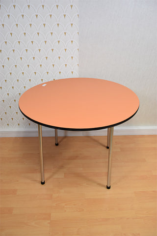 JOHANNA | table formica ronde orange