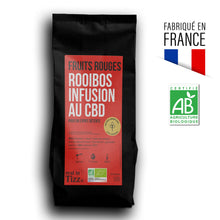 Charger l'image dans la galerie, Rooibos Infusion Bio au CBD Fruits Rouges by Tizz®