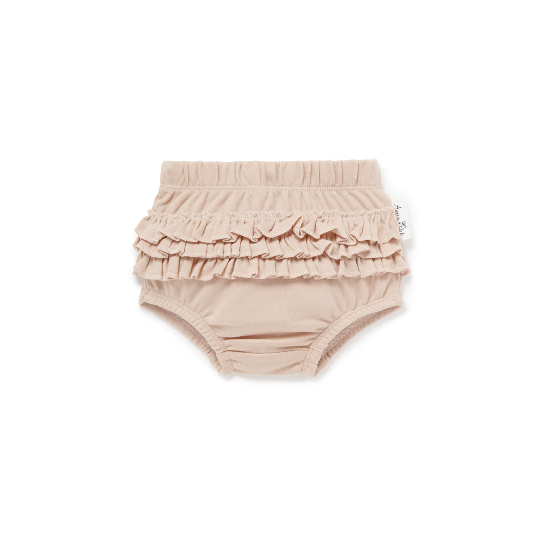ASTER & OAK ROSE DUST RUFFLE BLOOMERS