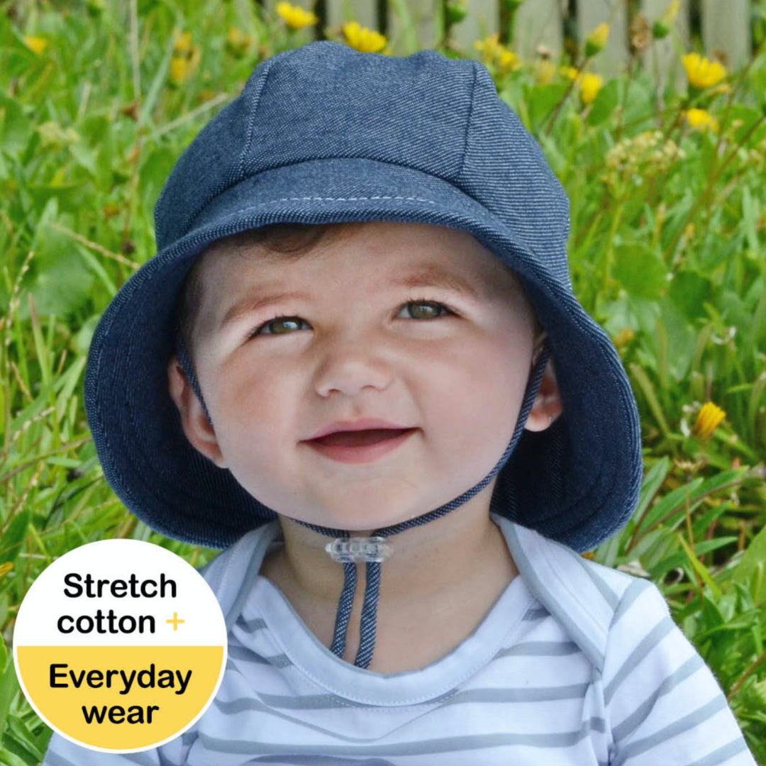 BEDHEAD TODDLER BUCKET HAT - DENIM