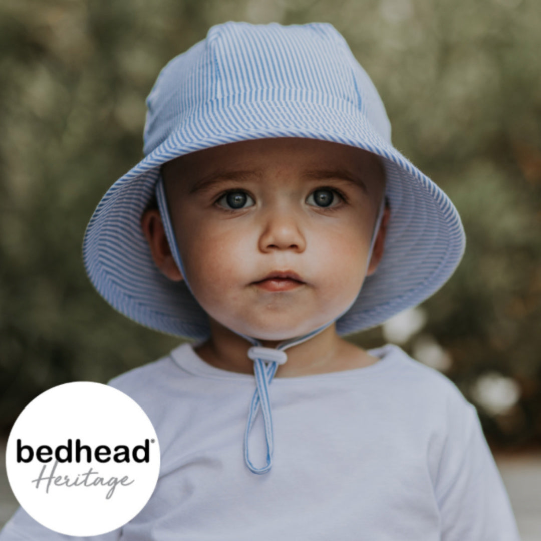 BEDHEAD HERITAGE TODDLER BUCKET HAT - STRIPE