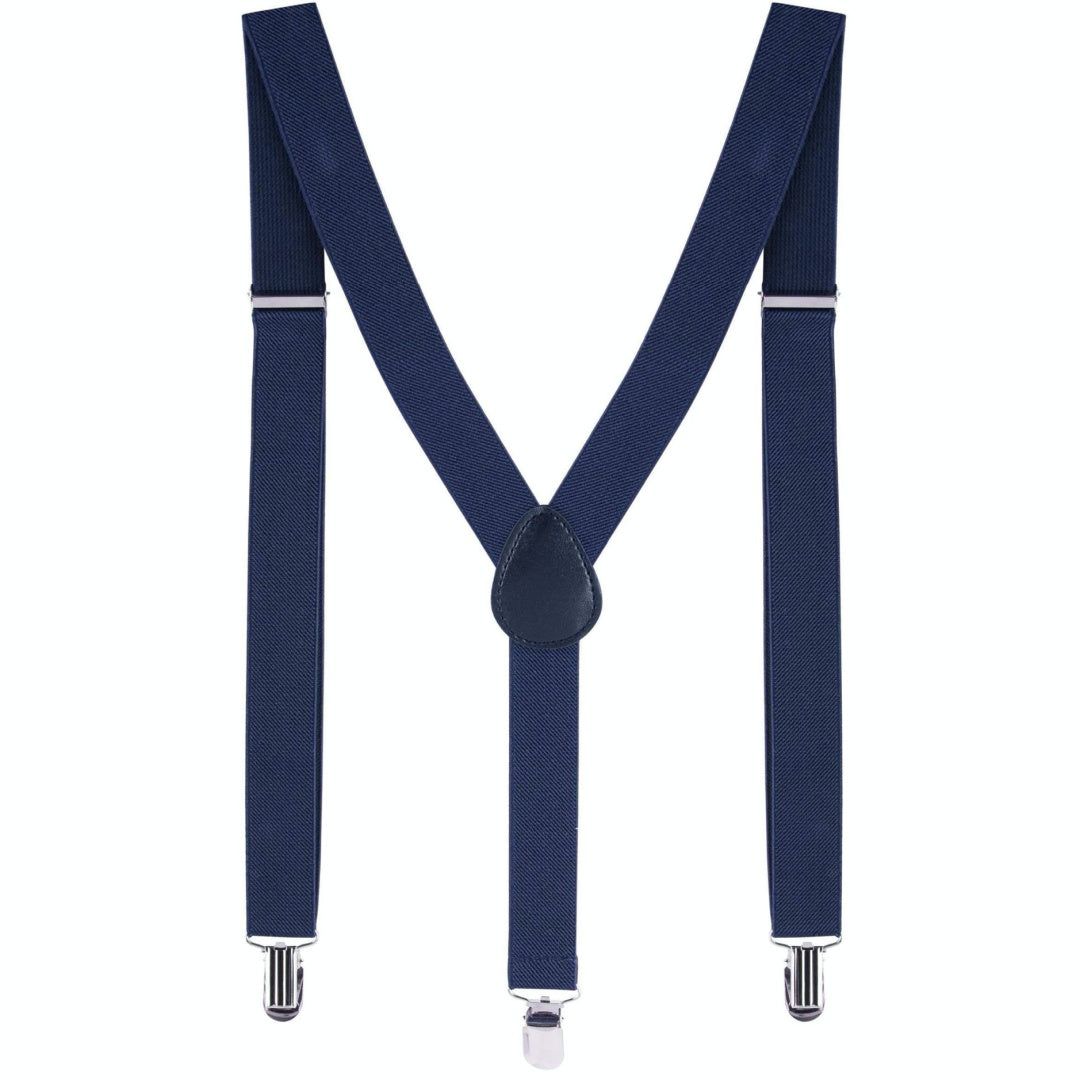 MAX AND JACK BOYS SUSPENDERS - NAVY