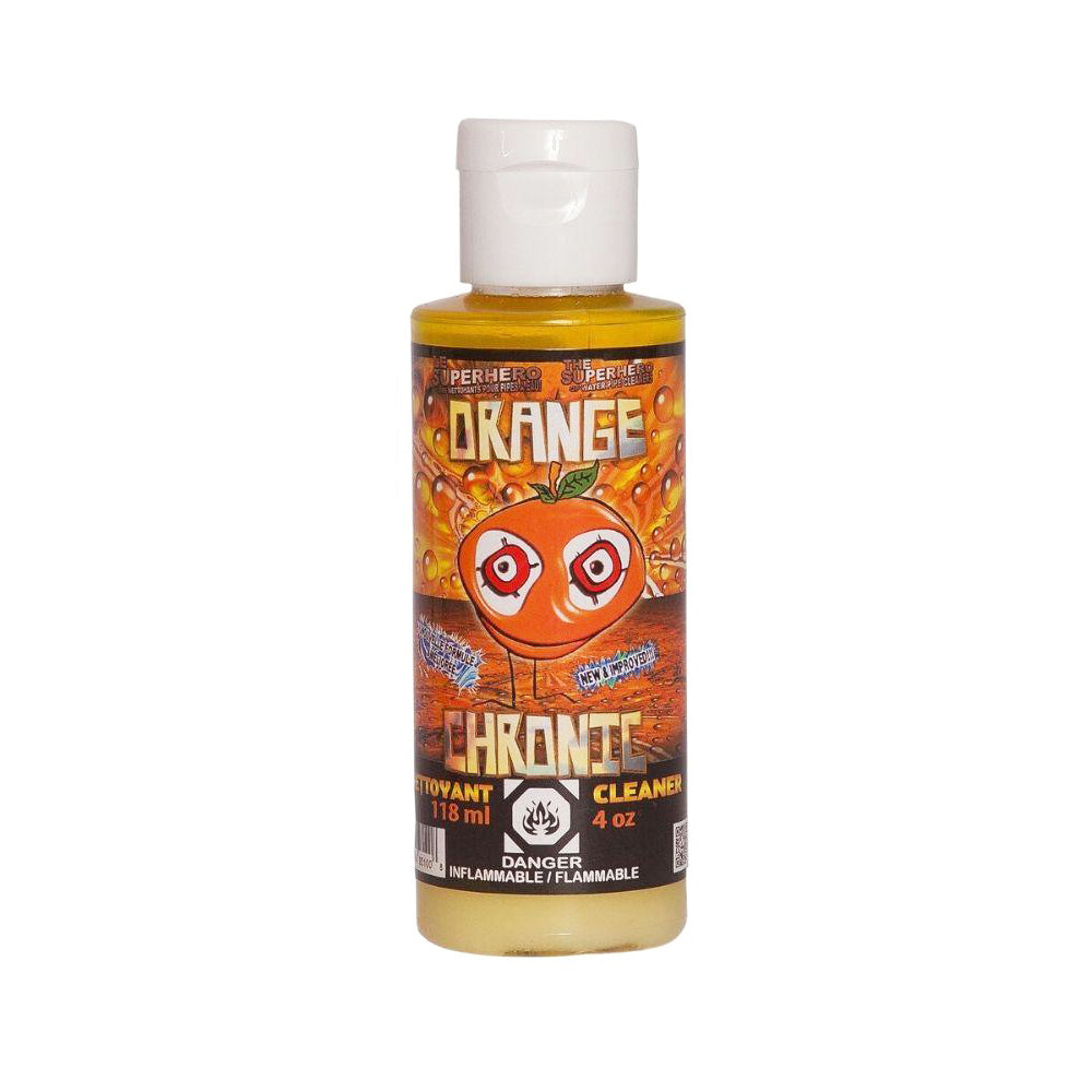 4oz Orange Chronic Bong Cleaner
