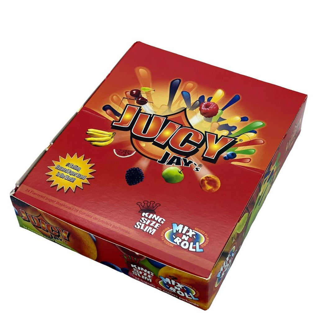 Juicy Jay's King Size Slim Mix-N'-Roll Papers