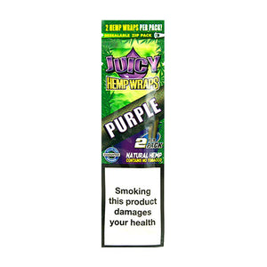 Juicy Jay's Purple Hemp Wraps