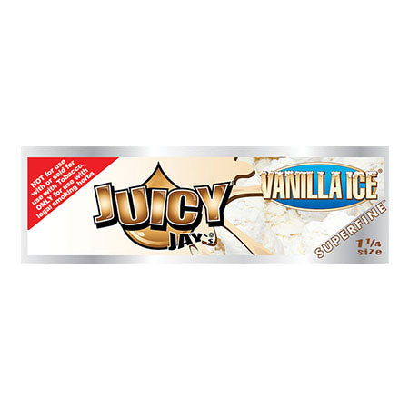 "Juicy Jay's Superfine Vanilla 1 1/4"" Rolling Papers"