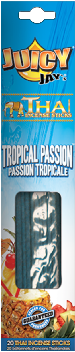 Juicy Jay's Thai Incense Sticks Tropical Passion