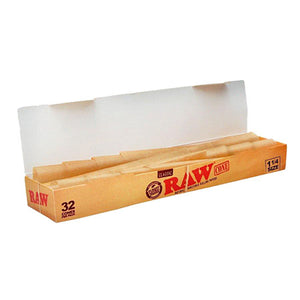 "Raw Classic 1 1/4"" Pre-rolled Cones with Tips"