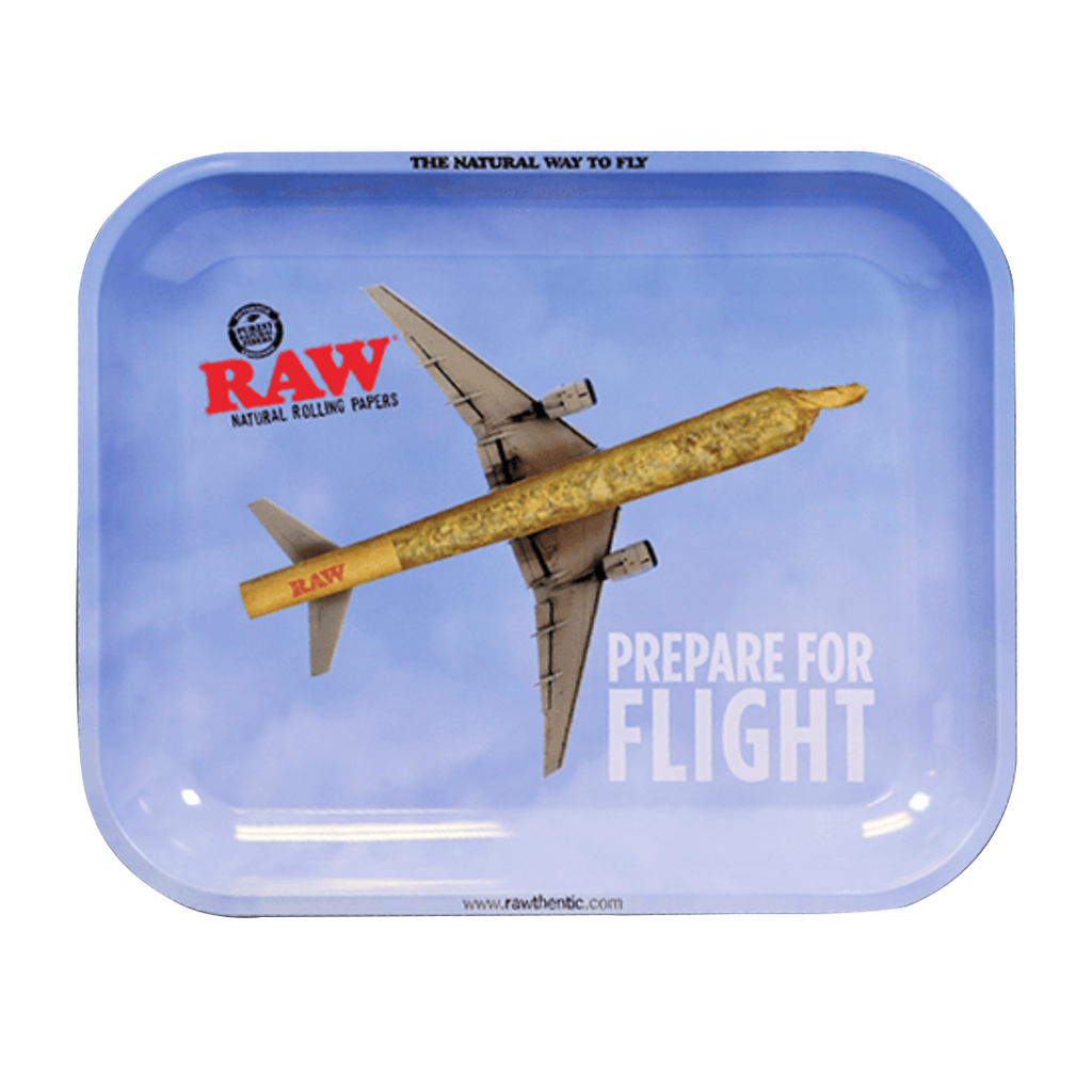 Large RAW Flight Rolling Tray