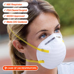 N95 Respirator - Case of 240ea