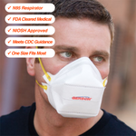 200 N95 Respirators • NIOSH Approved • FDA Cleared